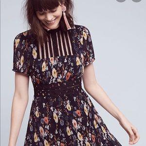 FoxieDox Anthropologie floral dress- sized S